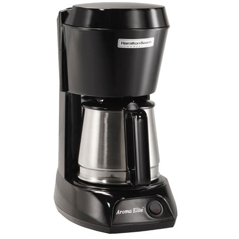 — pay for your order. Hamilton Beach HDC500CS 4 Cup Coffee Maker with Auto Shut Off and Stainless Steel Carafe - 120V ...