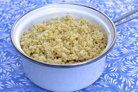 how to cook millet and a delicious salad recipe the
