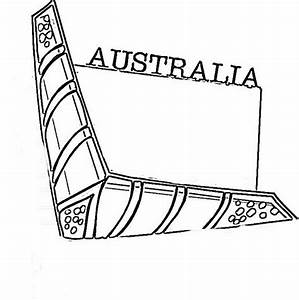 Australia Day Coloring Pages For Kids09 School