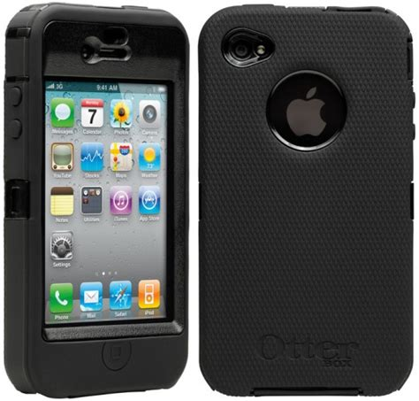 iphone 4 otterbox otterbox defender series for iphone 4 promises ruggedness