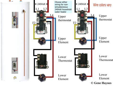 Electric Water Wiring Diagram by Rheem Electric Water Heater Wiring Diagram Free Wiring