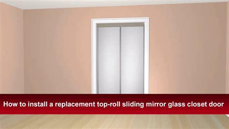 install renins top roll sliding bypass mirror