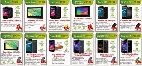 Myphone Mobile Phones Price List by Cherry Mobile Phones And Tablets Price List For 2014