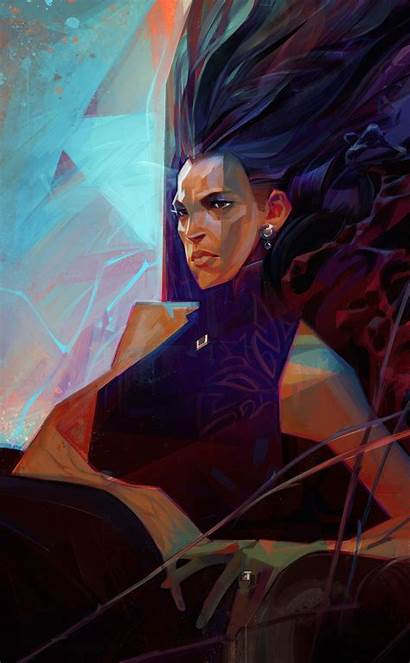 Sergey Kolesov Concept Paintings Delilah Dishonored Dishonored2