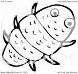 Bug Cartoon Clipart Lineart Illustration Lineartestpilot Royalty Vector sketch template