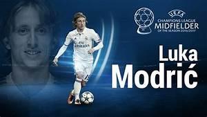 Luka Modrić named #UCL midfielder of the season - UEFA ...