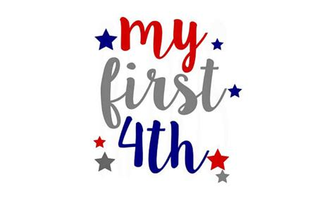 My First 4Th Of July Svg  – 294+ File SVG PNG DXF EPS Free