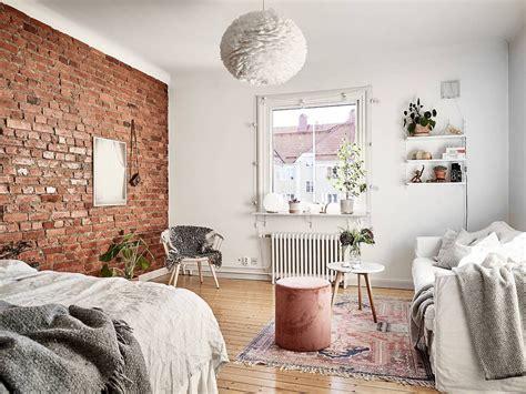 studio apartment  exposed brick wall  love studios