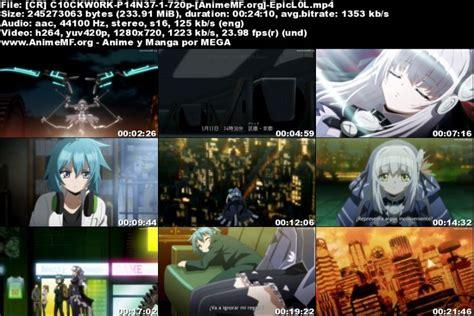 Anime Fuuka Jkanime Clockwork Planet 01 Ligero Hd Sub Espa 241 Ol Mega