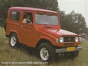 1978 daihatsu taft wildcat f50 lv diesel since september 1978 for europe export specs review