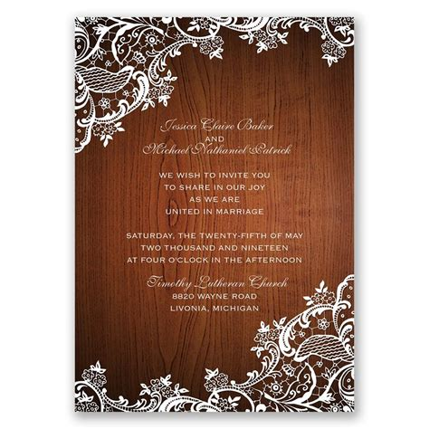 Lacerners  Ee  Invitation Ee   With Free Response Postcard Ann