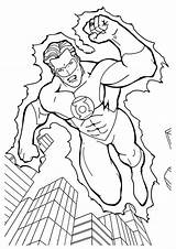 Lantern Coloring Verde Lanterna Colorir Coloriage Desenhos Superheroes Printable Imprimer Clip Imprimir Library Clipart Drawings sketch template