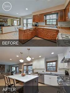 25, Before, And, After, Budget, Friendly, Kitchen, Makeover, Ideas, And, Designs, For, 2017