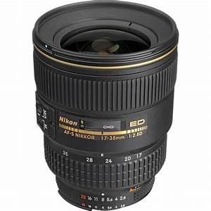 Nikon AF S Zoom NIKKOR 17 35mm f 2 8D IF ED Lens 1960 B&H