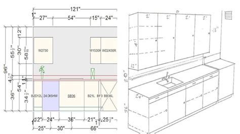 helpful kitchen cabinet dimensions standard  daily  engineering feed