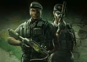 Skull Six Operators Siege Rainbow Rain