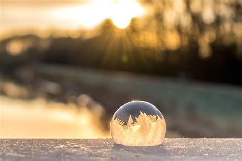 picture sunset sun sphere crystal landscape sky