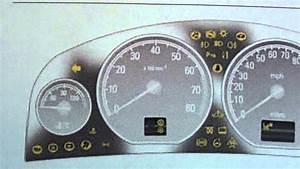 Vauxhall Opel Vectra C Dashboard Warning Lights  U0026 Symbols