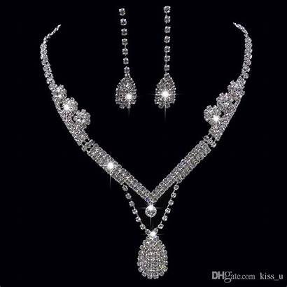 Jewelry Sets Manufacturing Bridal Elegant Necklace Silver