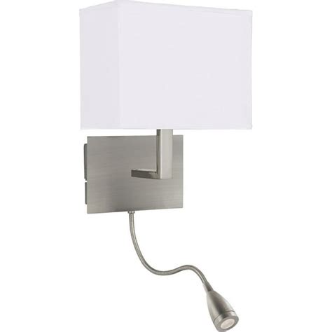 searchlight 6519ss wall lights 2 light satin silver wall