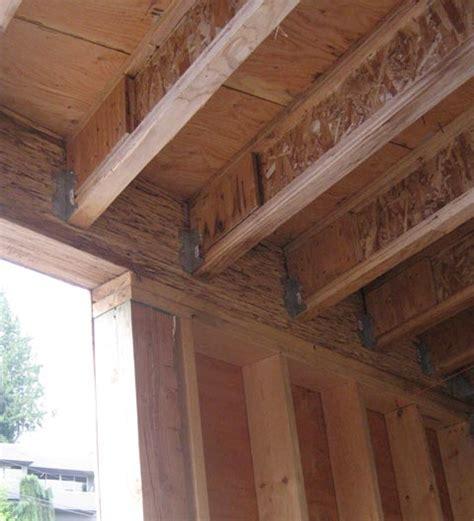 Tji Floor Joist Hangers by Esquimalt Framing 171 Home Building In Vancouver