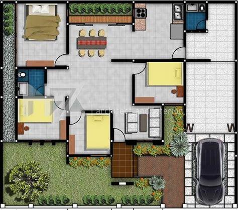 denah rumah minimalis type  lantai  gambar rumah idaman denah rumah tata letak rumah rumah