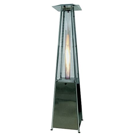 palm springs pyramid quartz glass patio heater