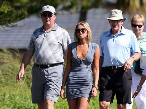 paulina gretzky   conspicuously absent   pga