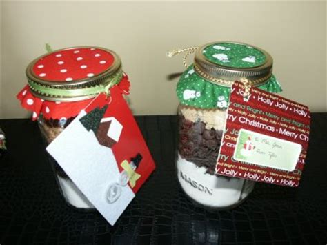 layered cookie mix in a jar hostess gift celebrations
