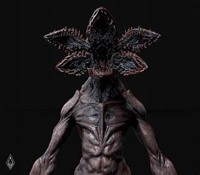 Stranger Demogorgon Artstation Imagenes Monster Fan Costume