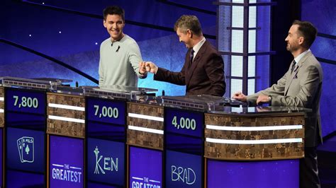 jeopardy  greatest   time meet  players