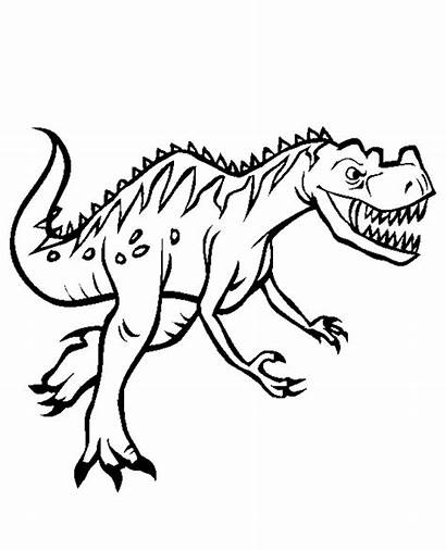 Dinosaur Dinosaurs Coloring Pages Colouring Boys Cartoon