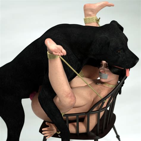Rule 34 3d Bestiality Bondage Bound Breasts Canine