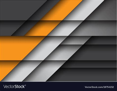 Abstract Black And Yellow Design by Abstract Yellow Gray Design Modern Background Vector Image