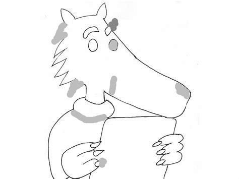 dessins de coloriage loup maternelle  imprimer