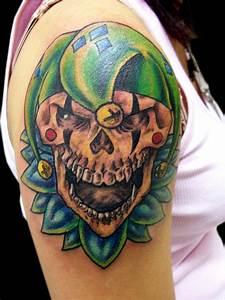 Tattoo Designs of Clowns| Tattoo Designs Evil Clowns ...