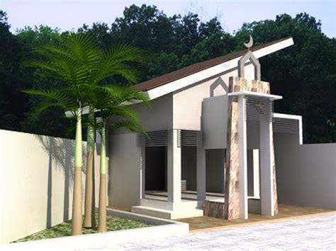 desain ruang mushola  rumah blog
