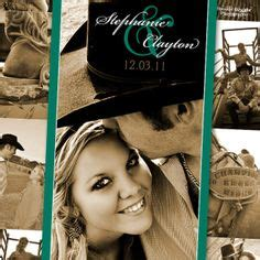 cowboy wedding invitations images wedding