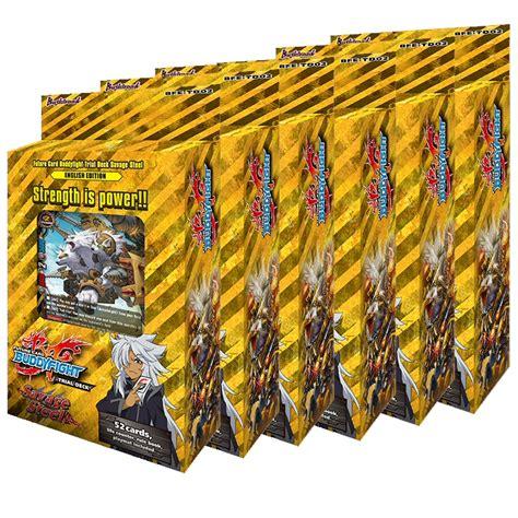 buddyfight trial deck 6 future card buddyfight trial deck 2 savage steel box