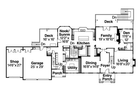 center colonial floor plans colonial house plans princeton 30 497 associated designs