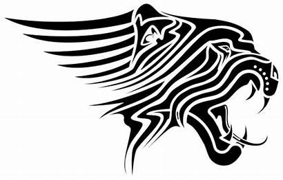 Tattoo Tiger Tribal Tattoos Designs Head Clipart