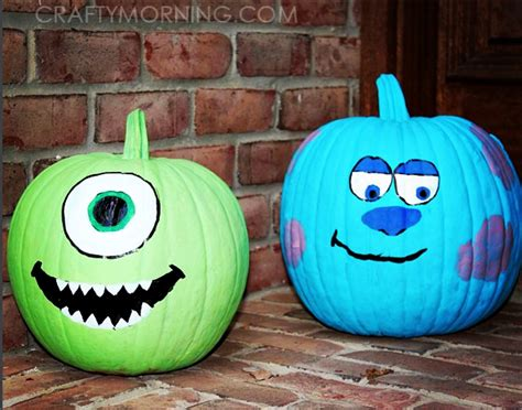 pumpkin paint clever no carve painted pumpkin ideas for kids crafty morning