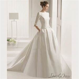 custom wedding dresscontracted classic wedding dress With classic wedding dresses