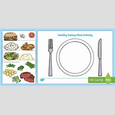 Healthy Eating Meal Activity  Healthy, Healty Eating, Sort