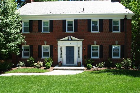 colonial homes colonial maplewood homes and front doors