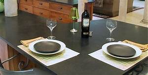 Plan De Travail Ardoise : plan de travail cuisine sur mesure plan de travail granit quartz corian ~ Preciouscoupons.com Idées de Décoration