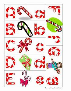 1111christmas fun With candy cane alphabet letters