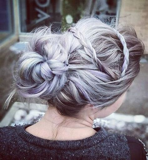 pretty messy updos  long hair updo hairstyles