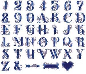 Cricut Cartridges Monogram Font