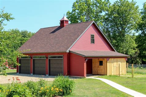 Barns And Garages by Newport A Frame Style 1 189 Story Garage The Barn Yard
